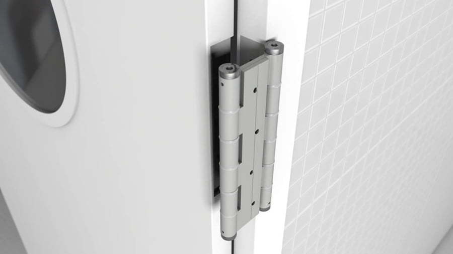 Auto close door hinges