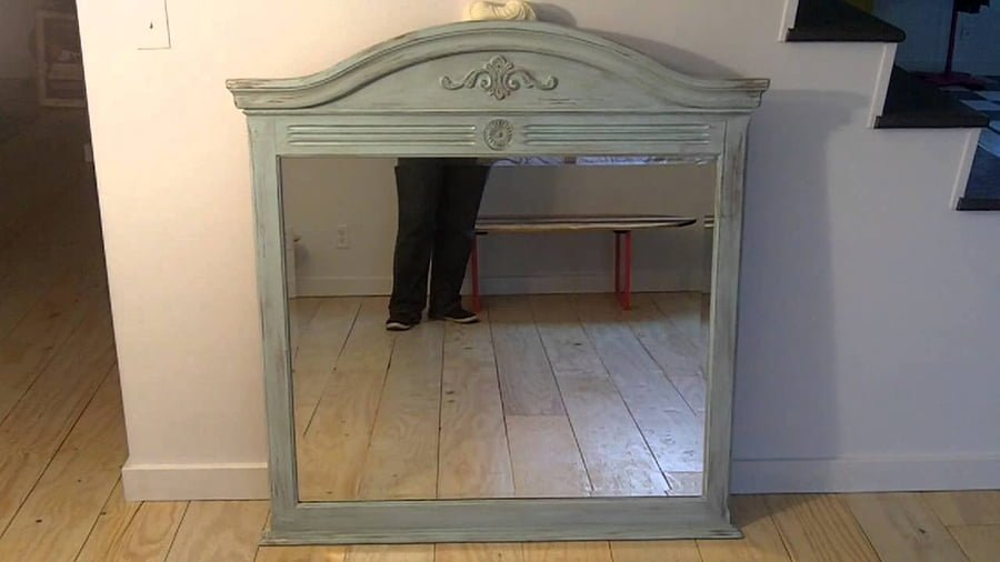 Diy Antique Mirror