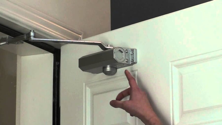 How to stop a door from slamming?
