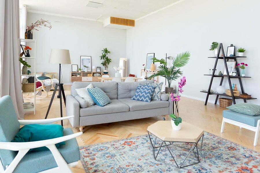 beachy decor apartment