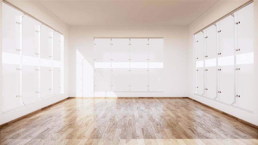 empty room floor