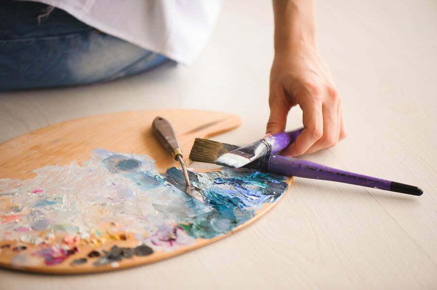 mix paint color